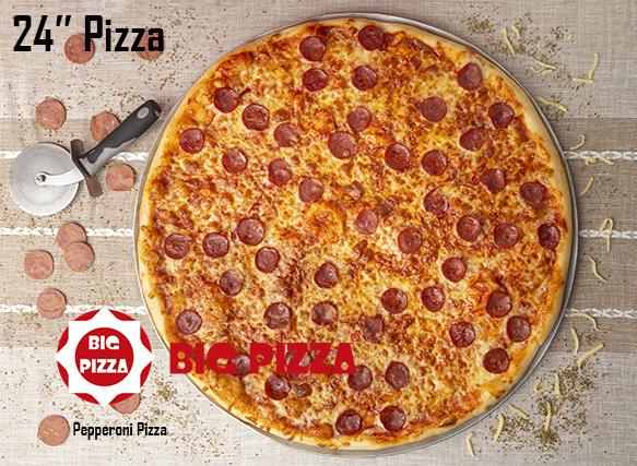 Pepperoni Big Pizza