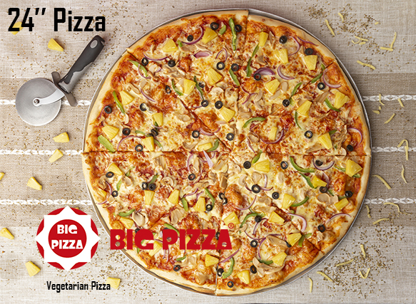 Vegetarian Big Pizza
